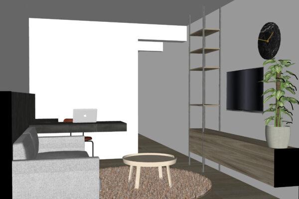 studio - leefruimte